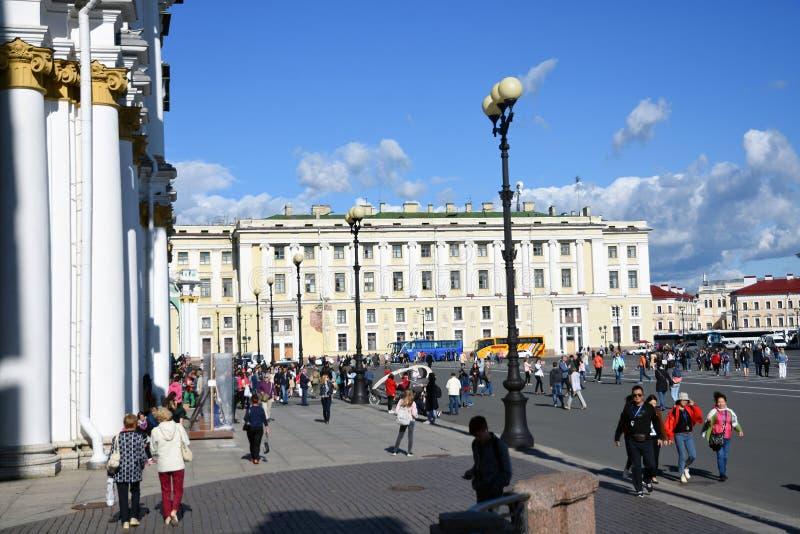 Pal?cio do inverno do museu de eremit?rio em St Petersburg, R?ssia imagem de stock royalty free