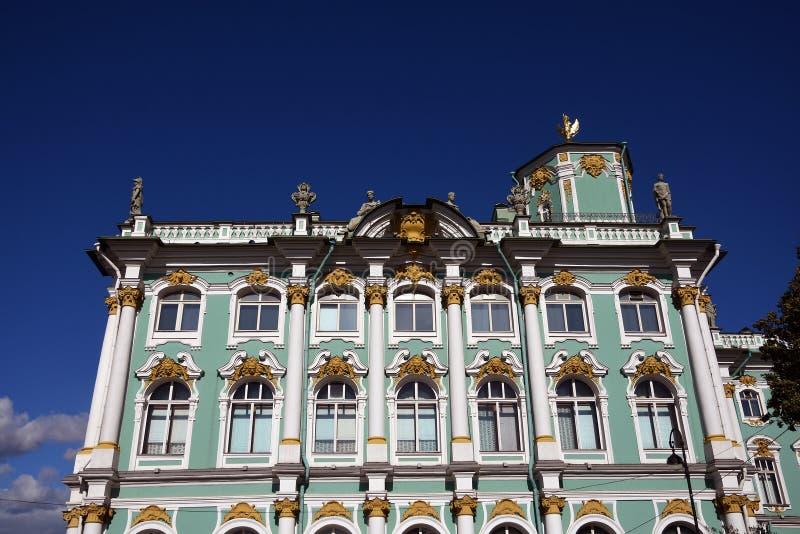 Pal?cio do inverno do museu de eremit?rio em St Petersburg, R?ssia fotos de stock