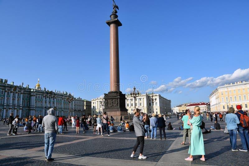 Pal?cio do inverno do museu de eremit?rio em St Petersburg, R?ssia foto de stock royalty free