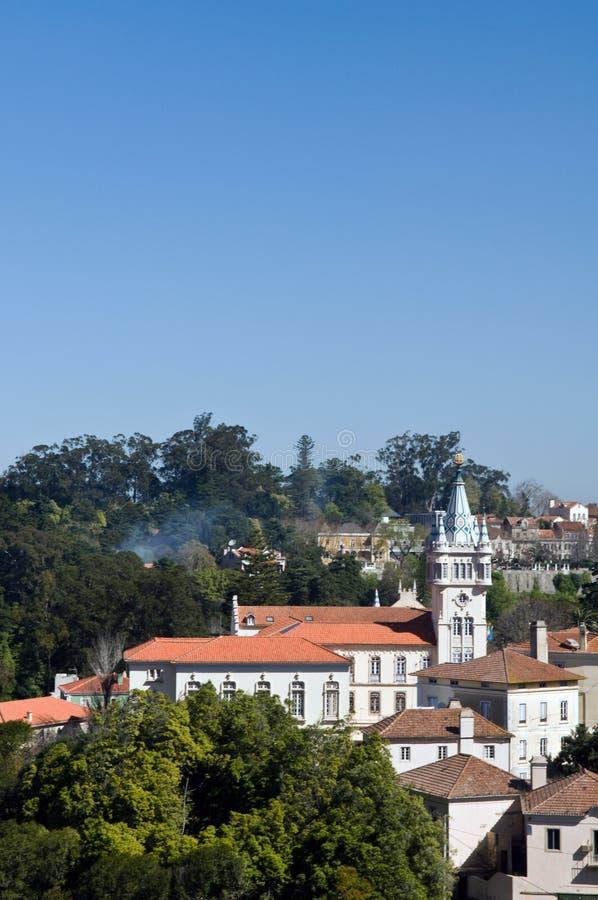 Download Pal�cio Nacional de Sintra stock image. Image of architecture - 4685043
