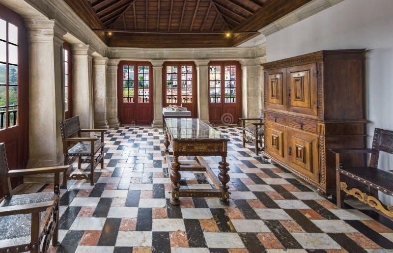 Pal?cio nacional de Sintra foto de stock royalty free