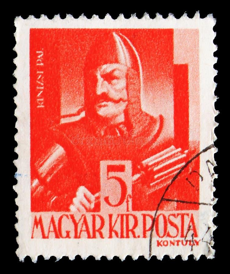 Pal Kinizsi -1494, tecken och reliker av ungersk historieserie, circa 1943 fotografering för bildbyråer