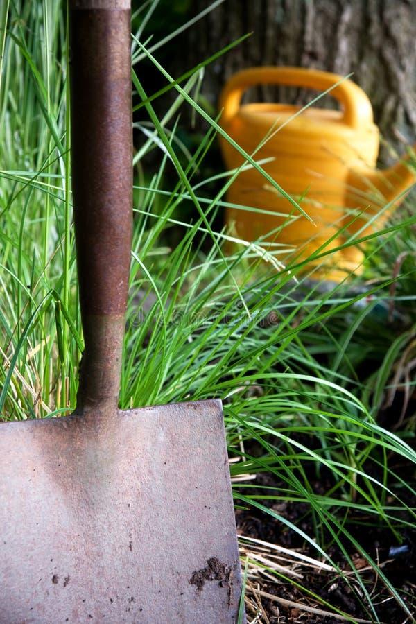 Pala del giardino fotografia stock libera da diritti