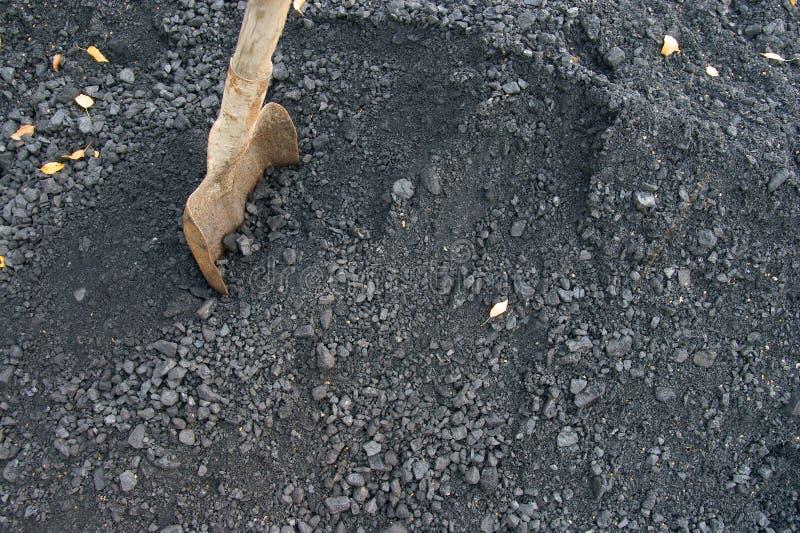 Download Pala y carbón imagen de archivo. Imagen de suciedad, pala - 7279119