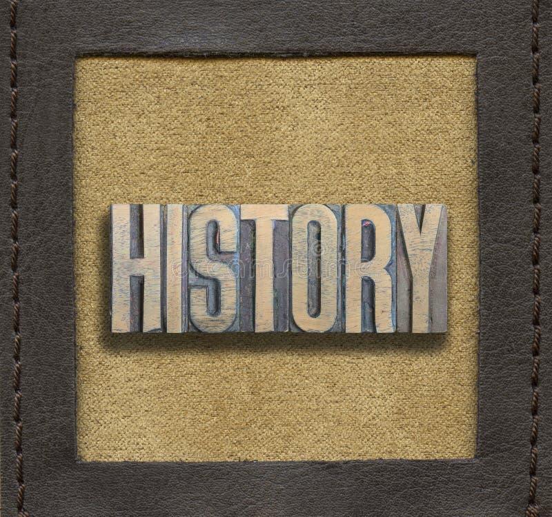 Palabra De La HISTORIA Enmarcada Imagen de archivo - Imagen de ...