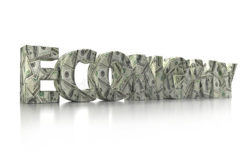 palabra del EFECTIVO 3D stock de ilustración