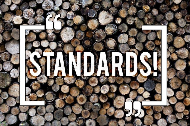 Palabra que escribe estándares del texto Concepto del negocio para la madera de madera del vintage del fondo de las instrucciones imagenes de archivo