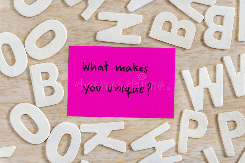Palabras de la letra de la escritura en nota pegajosa rosada fotografía de archivo libre de regalías