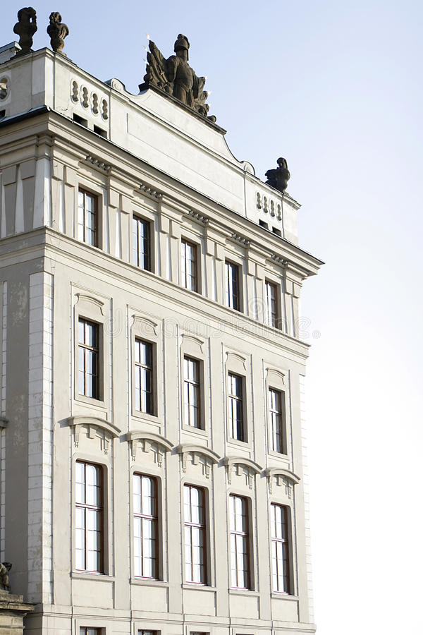 palace大主教在布拉格 免版税库存照片