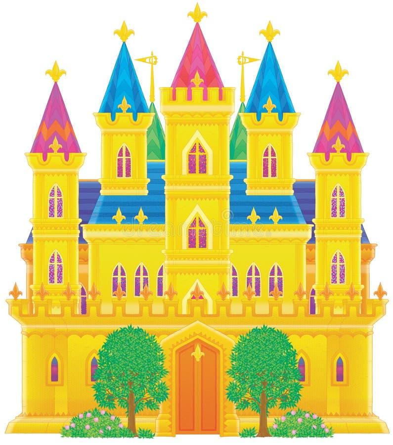 Palace vector illustration