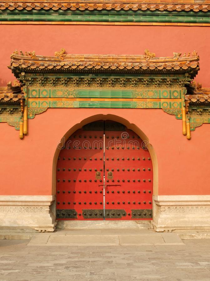 Palace of Abstinence. Zhai Gong ,Palace of Abstinence in Forbidden City of Beijing China royalty free stock photo