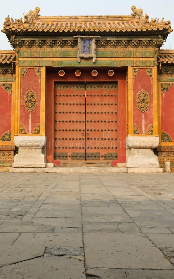 Palace of Abstinence. Zhai Gong ,Palace of Abstinence in Forbidden City of Beijing China royalty free stock image