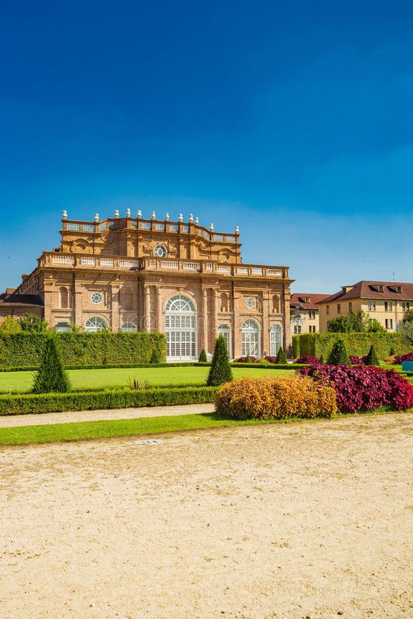 Free Palace And Park Of Venaria Stock Images - 135778604