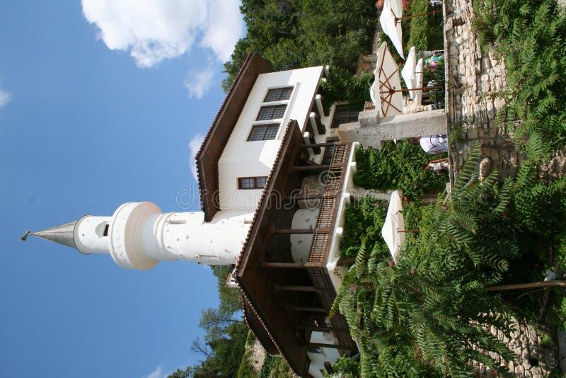 The Palace in Balchik, Bulgaria stock image