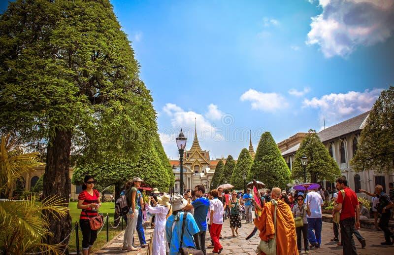 Palace Bangkok-Thailand 2013 am 29. März Königs stockbilder