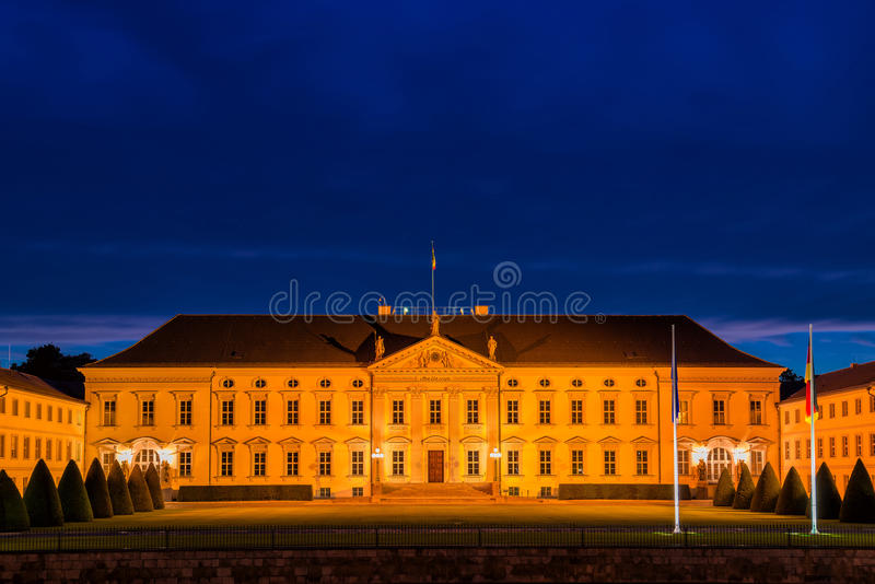 Palace of Bellevue royalty free stock photography