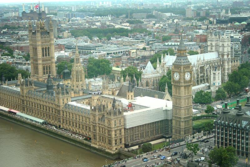 Palace And Big Ben Royalty Free Stock Image