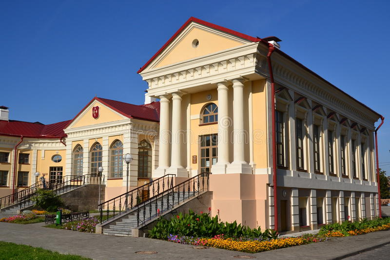 Palace Butrimovich in Pinsk royalty free stock images