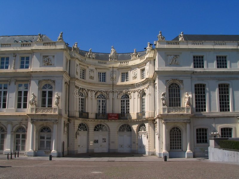 Download Palace Of Charles De Lorraine. Stock Photo - Image: 204290