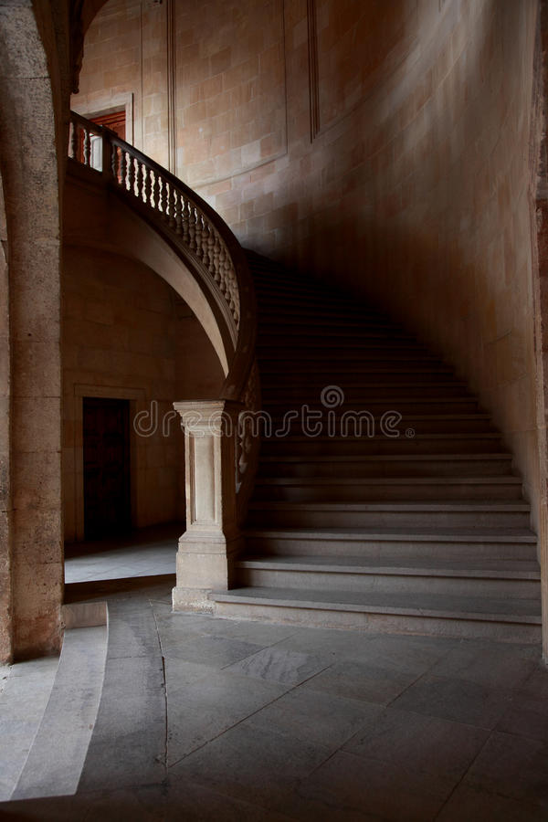 The Palace of Charles V royalty free stock photography
