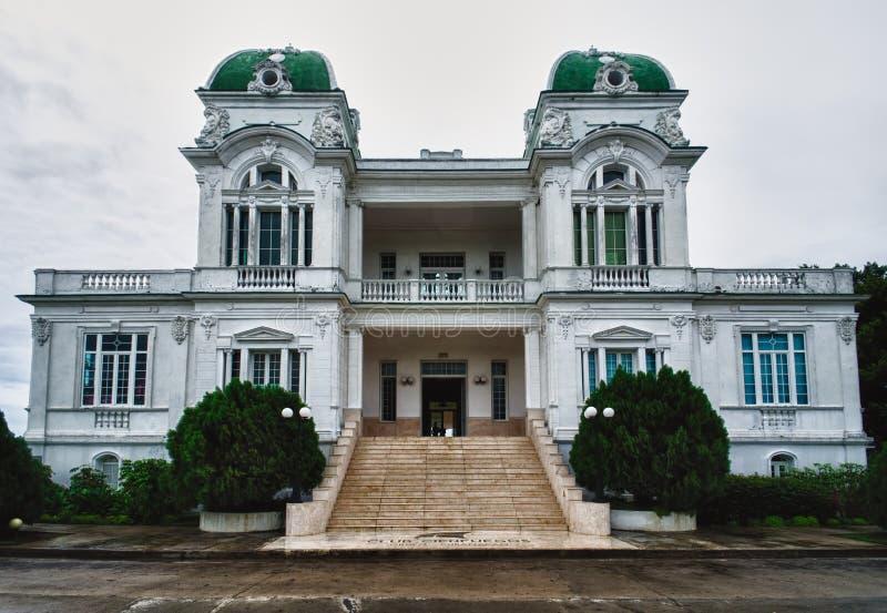 Palace in Cienfuegos city, Cuba stock image