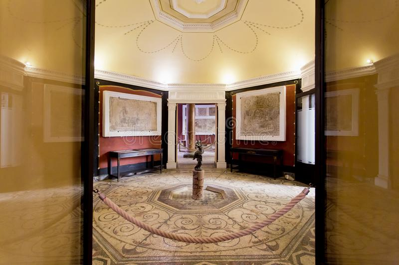 Palace of the Countess of Lebrija in Seville royalty free stock photos
