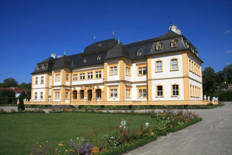 Download Palace And Court Garden Veitshoechheim Royalty Free Stock Images - Image: 10553049