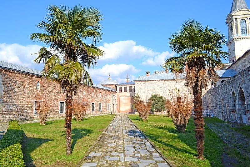 Palace Courtyard Stock Photography