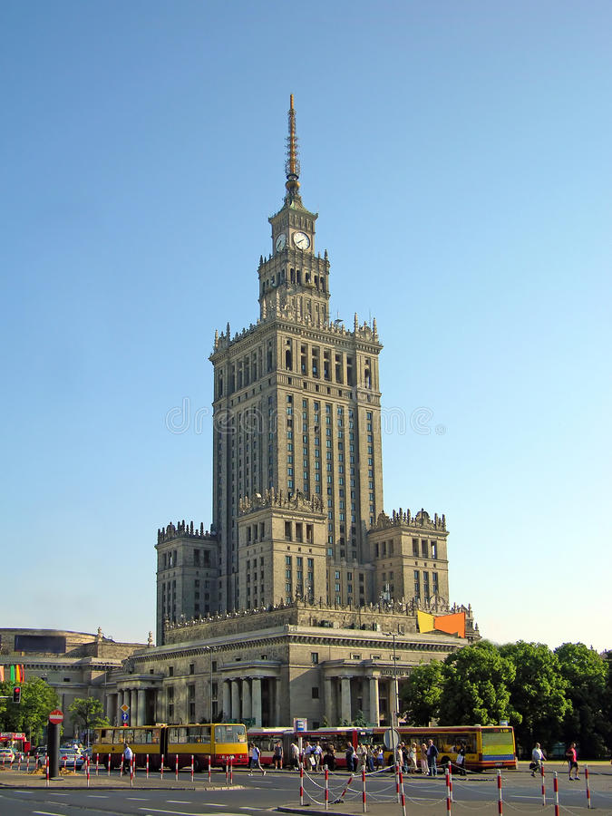 Download Palace Of Culture And Science Royalty Free Stock Photography - Image: 10967087