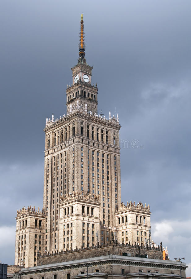 Download Palace Of Culture And Science. Stock Image - Image: 16477195
