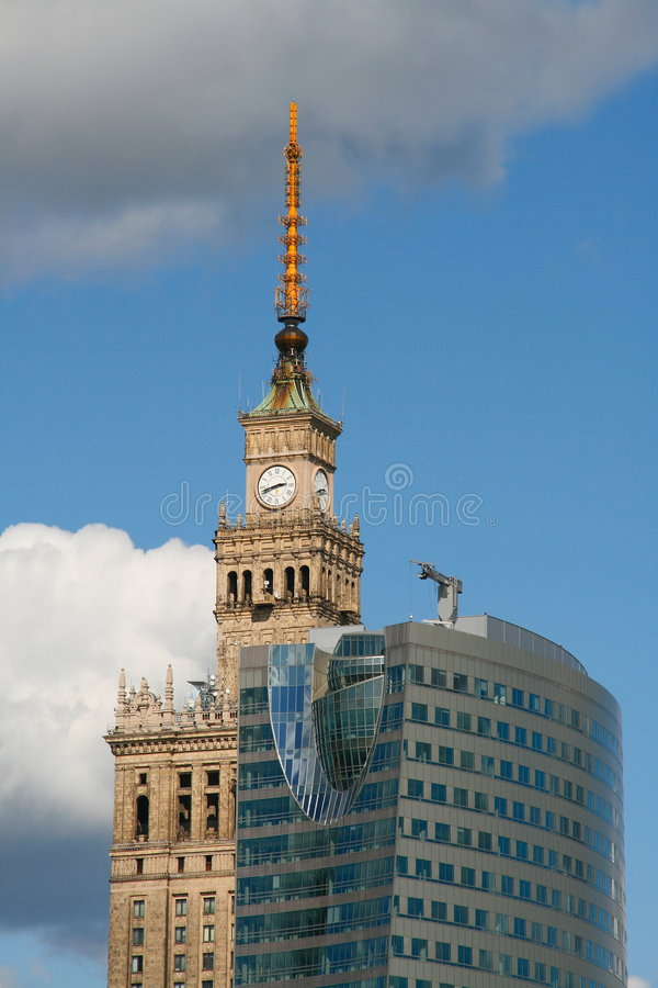 Download Palace Of Culture And Science Stock Photo - Image: 6299708