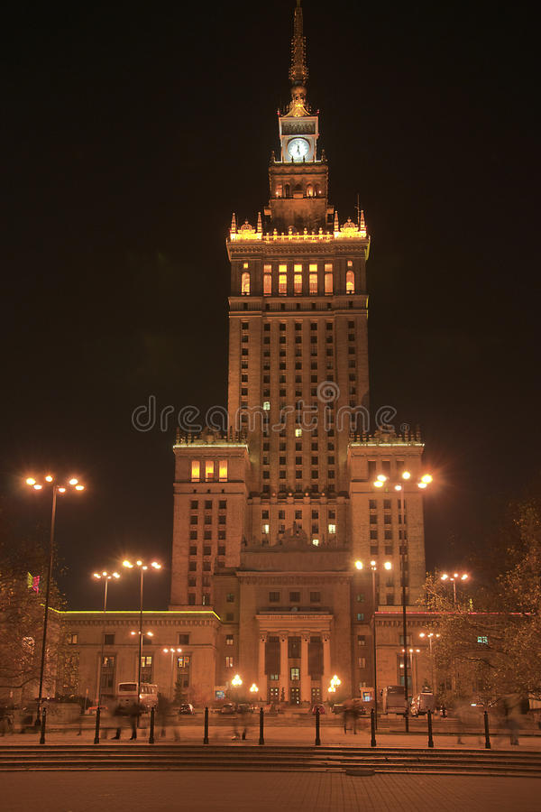 Download Palace Of Culture And Science In Warsaw Stock Image - Image: 17758579
