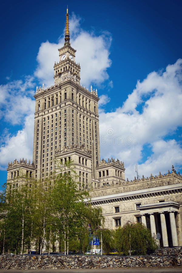 Download The Palace Of Culture And Science In Warsaw, Poland Editorial Photo - Image of capital, symbol: 83723761