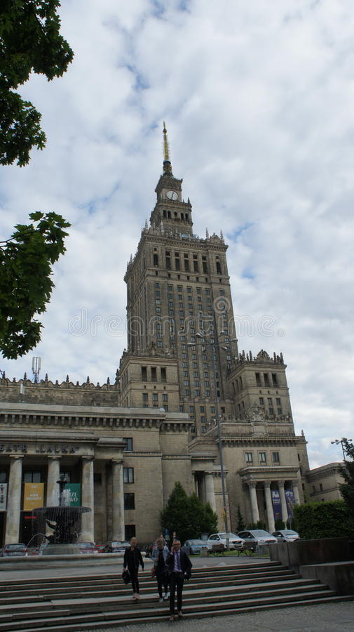 Palace of culture royalty free stock photo