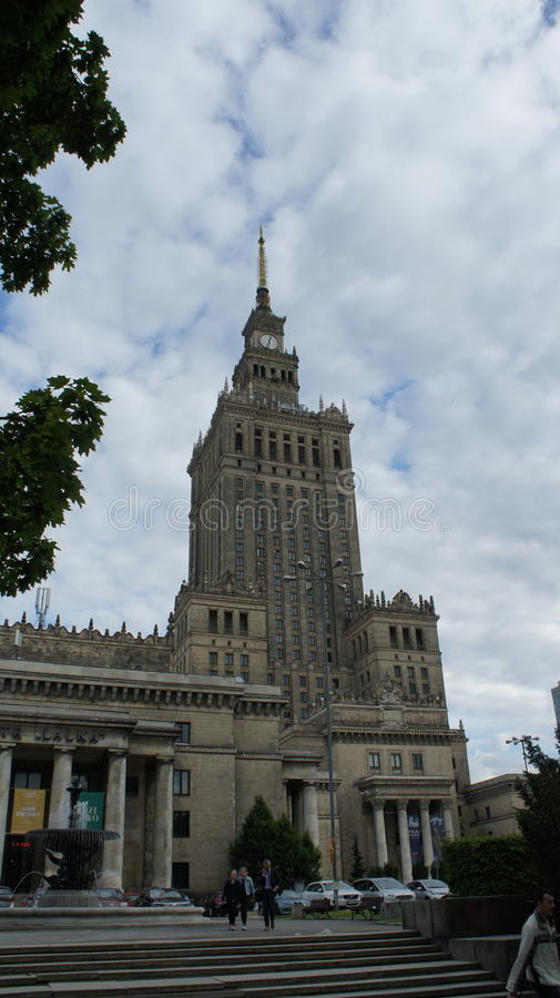 Palace of culture stock photography