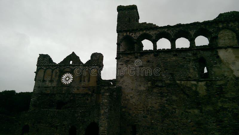 Palace de St David d'évêque images libres de droits