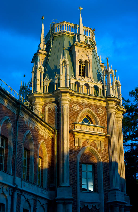 Download Palace on a decline stock photo. Image of moscow, summer - 11109060