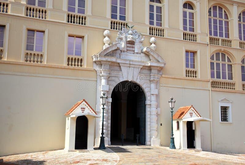 Palace des Prinzen in Monaco stockbild
