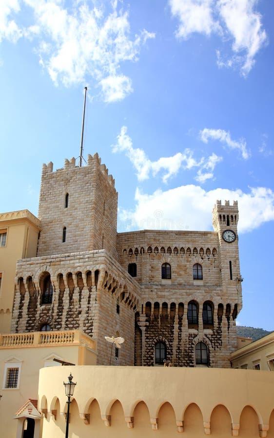 Palace des Prinzen in Monaco lizenzfreie stockfotos