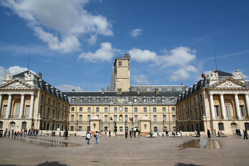 Palace of the Dukes, Dijon, France stock photography