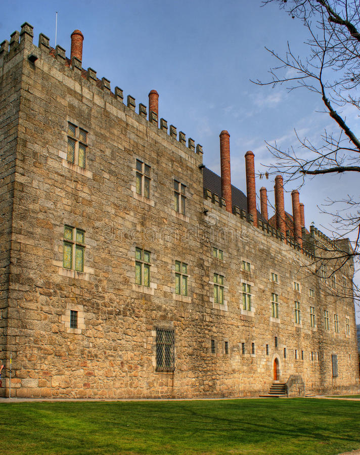 Download Palace Of Duques De Braganca Stock Image - Image of heritage, ancient: 60063521
