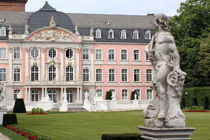 Palace of the Elector. In Trier (Germany stock photo