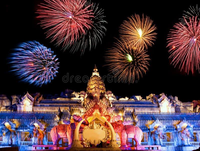 Palace of the elephants royalty free stock image