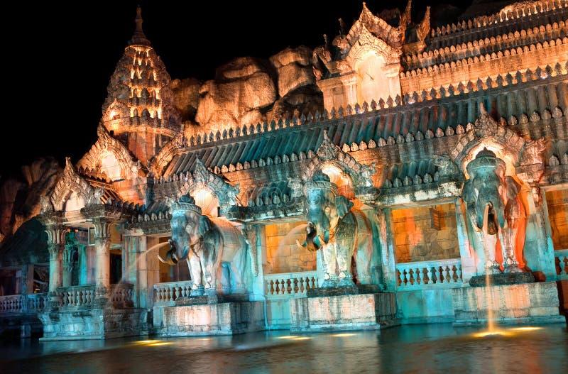 Palace of the elephants stock photography