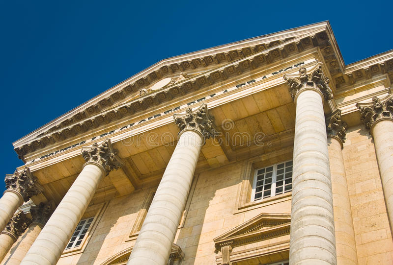 Download Palace Facade With Columns In Versailles Stock Photo - Image: 17720518
