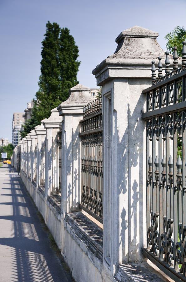 Palace Fence Stock Images