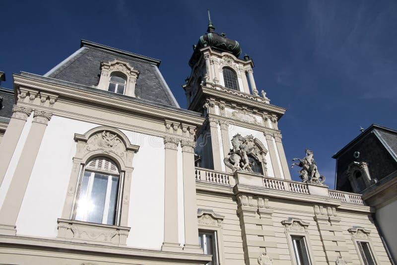 Palace Of Festetics In Keszthely Stock Photo