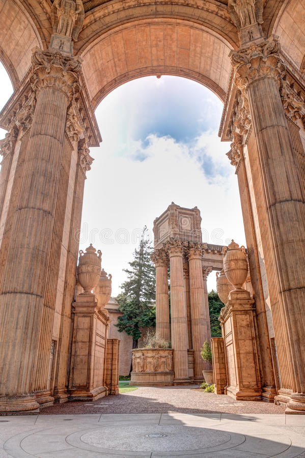 Download Palace of Fine Arts stock image. Image of america, historic - 35838297