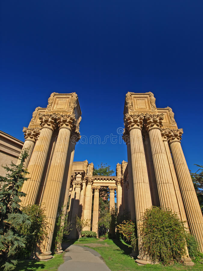 Download Palace Of Fine Arts In San Francisco. Stock Image - Image: 11911699