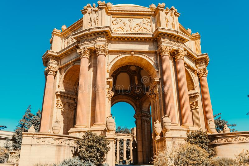 The Palace Of Fine Arts , San-Francisco , CA 10/04/2019 stock image